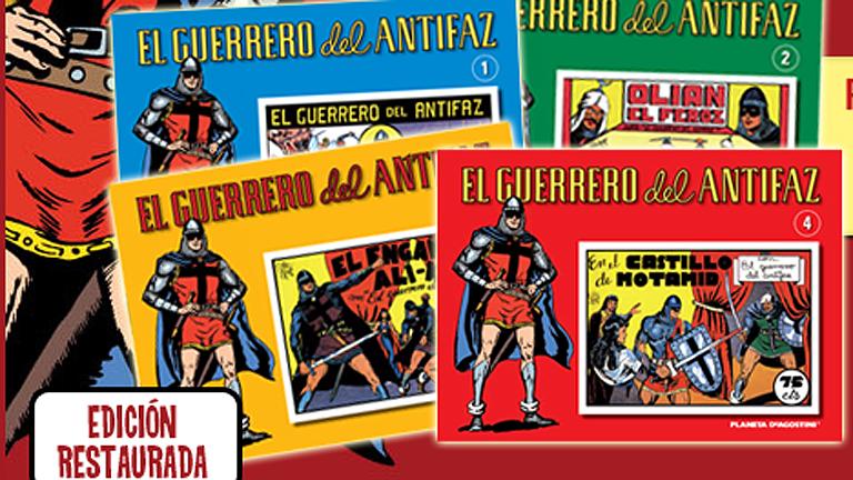 Anuncio de la colección de 'El guerrero del antifaz'