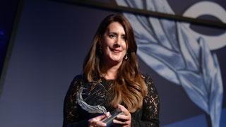 Anuncio del Premio Planeta 2016 y discurso de la ganadora, Dolores Redondo.