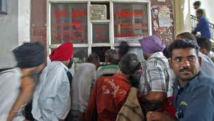Apagón en la India