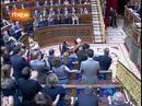 Ir al VideoAplauso para De la Vega en el pleno del Congreso