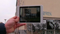 Ir al VideoUna aplicación permite mirar al pasado del Muro de Berlín