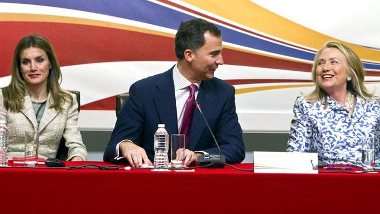 Hillary Clinton, asegura que Estados Unidos quiere reforzar sus lazos comerciales con España