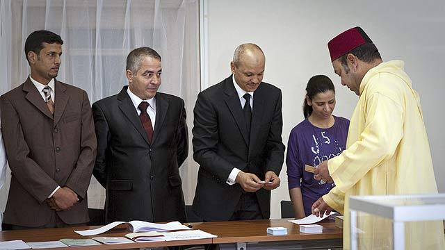 Apoyo masivo de los marroquíes a la reforma constitucional