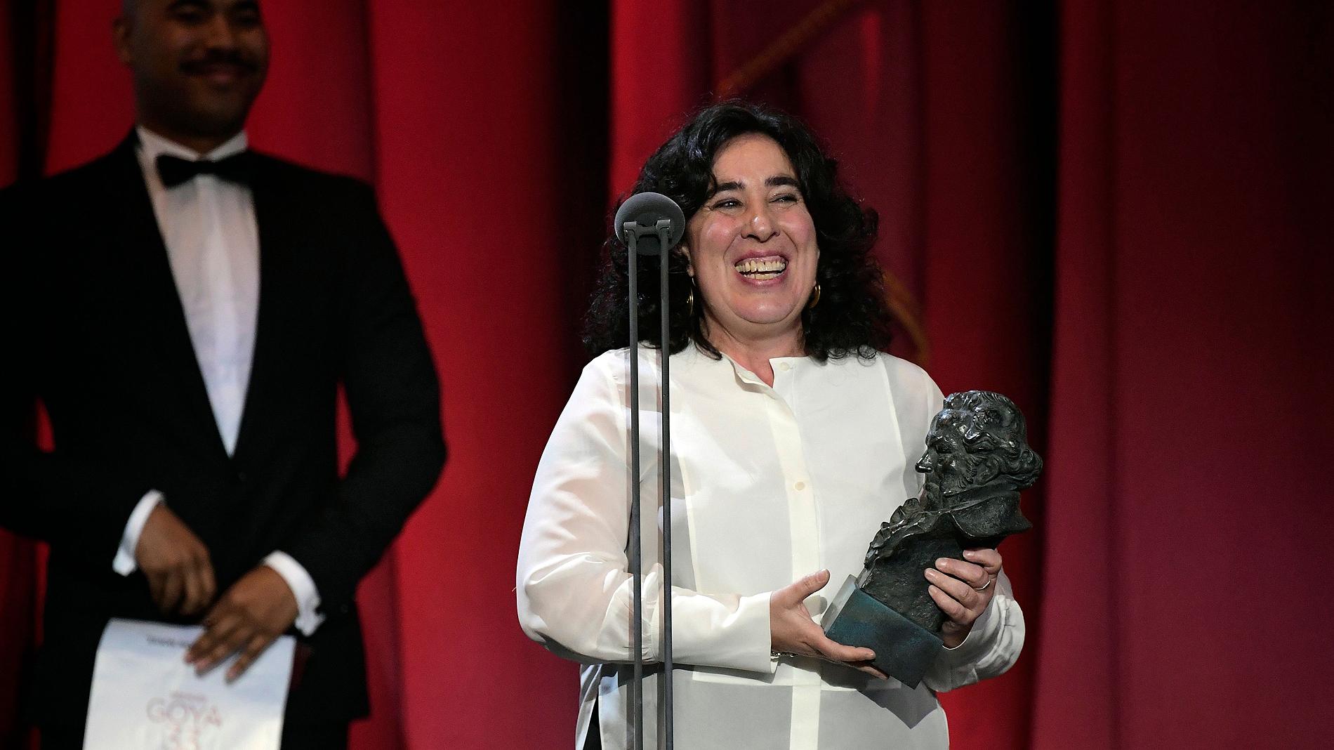 Ir al VideoArantxa Etxevarría, Goya a la Mejor dirección novel por 'Carmen y Lola'