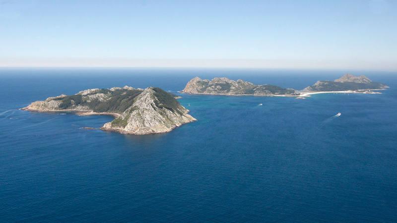 El archipiélago de las Islas Cíes