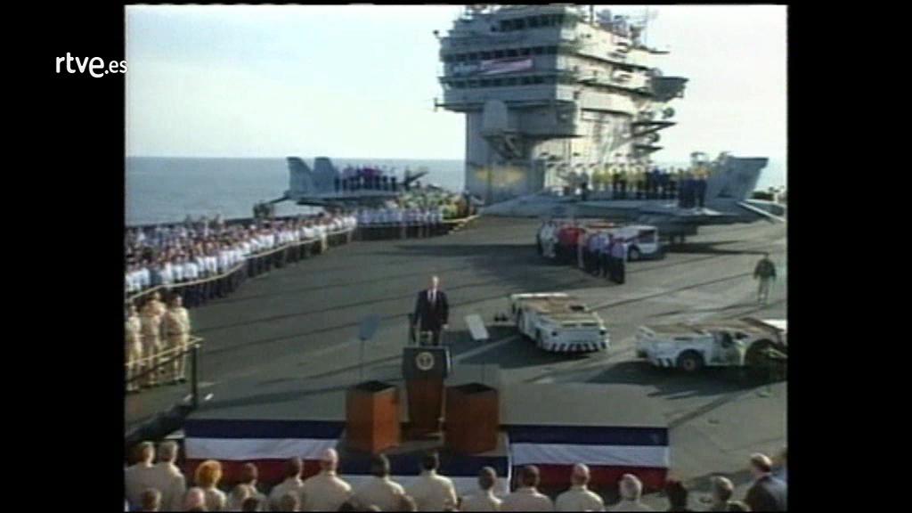 Ir al VideoArchivo: George W. Bush declara terminadas las principales operaciones militares en Irak
