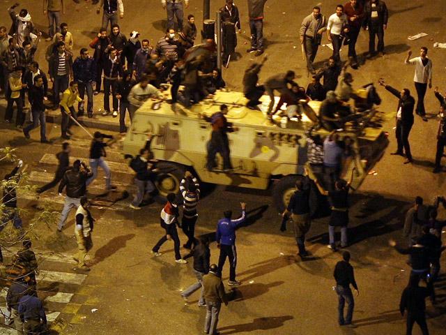 Incendiada la sede del partido de Mubarak en El Cairo