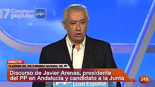 """Arenas asegura que el """"único miedo"""" en Andalucía es """"a que sigan los mismos"""""""