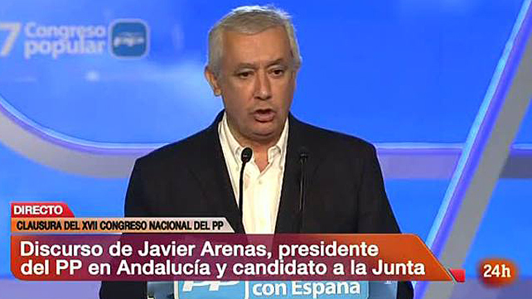 """Arenas asegura que el """"único miedo"""" en Andalucía es """"a que sigan lo"""
