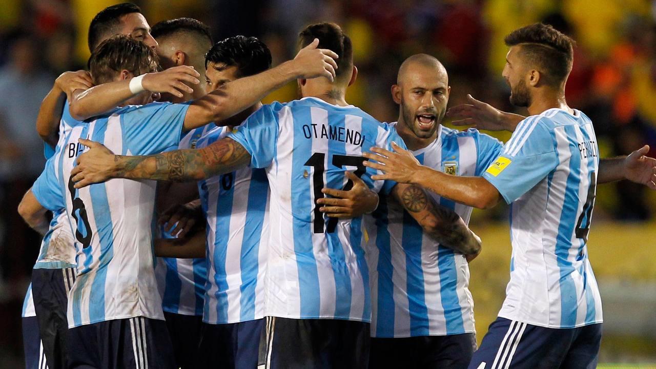 Argentina respira tras vencer a Colombia