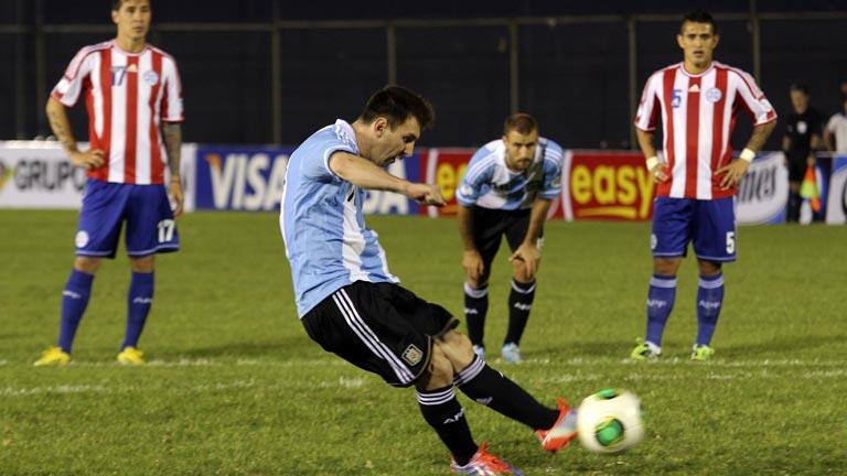 Argentina se une a los clasificados para el Mundial 2014