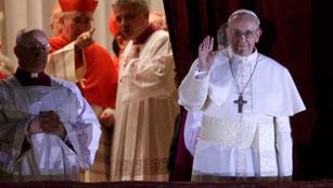 El argentino Jorge Mario Bergoglio, Francisco, el papa número 266 de la historia del catolicismo