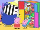 Imagen del  vídeo de Peppa Pig titulado UN ARMARIO PARA LOS JUGUETES
