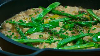 Torres en la cocina - Arroz con verduras asadas