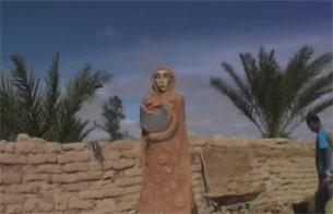 Exposición de arte solidario en el Sáhara
