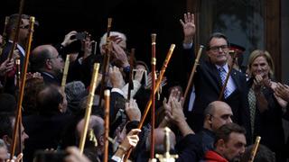 """Artur Mas se reconoce """"promotor"""" del 9N, que """"ejecutaron"""" voluntarios"""