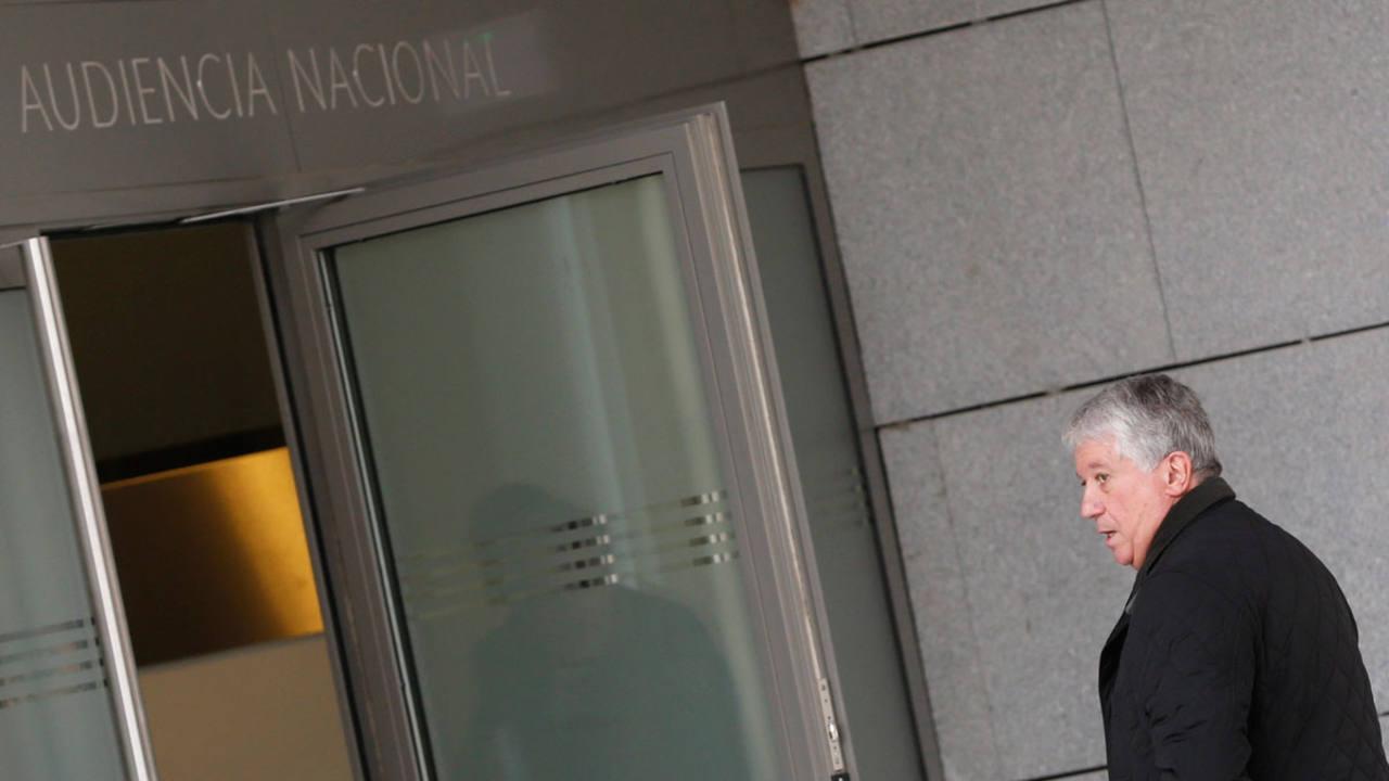 Arturo Fernández entra en la Audiencia Nacional