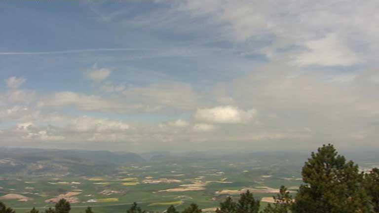 Fuerte viento en Canarias y ascenso de las temperaturas en el Cantábrico