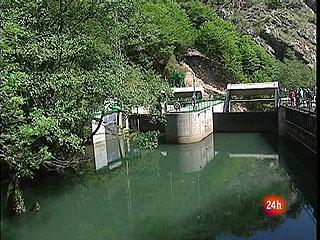 Un ascensor en el río Teverga para los peces