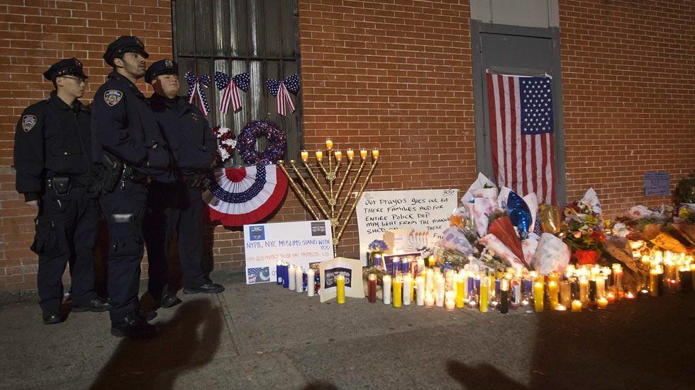 El asesinato de dos agentes enfrenta a la policía y el alcalde de Nueva York