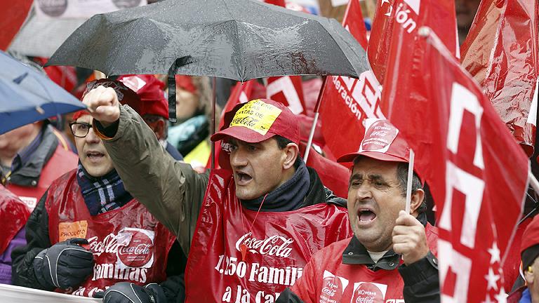Así es el ERE que plantea Coca-Cola