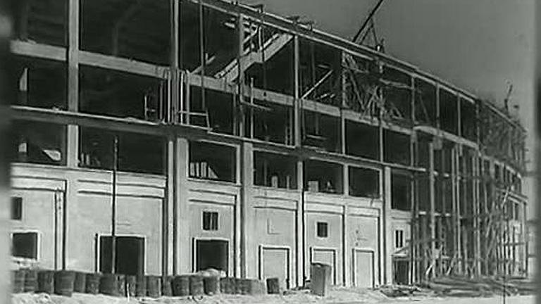 Así nació el actual Santiago Bernabéu