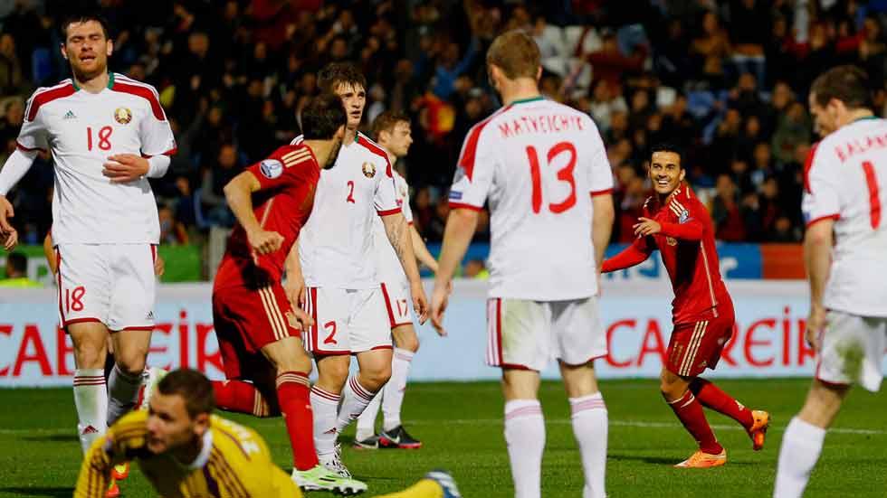 La asociación Juanfran-Cazorla-Pedro hace el 3-0