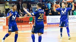 Aspil Vidal R. Navarra 1 - Movistar Inter 6