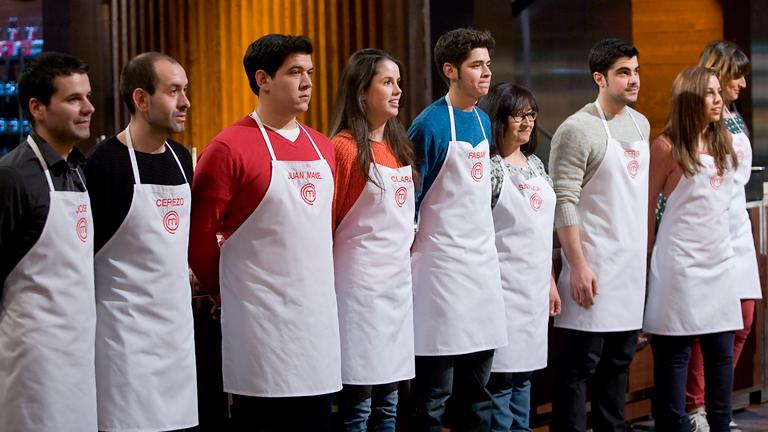 Los aspirantes de masterchef vuelven a las cocinas de tve for Programas de cocina en espana