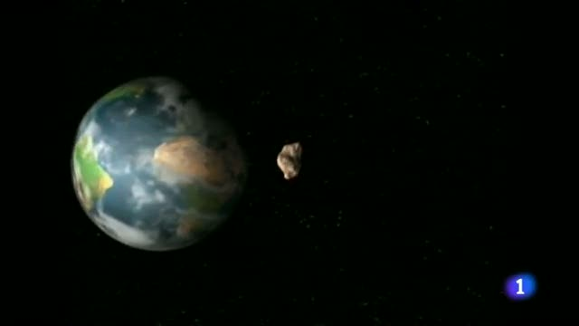 Ir al VideoUn asteroide con luna propia pasa muy cerca de la Tierra