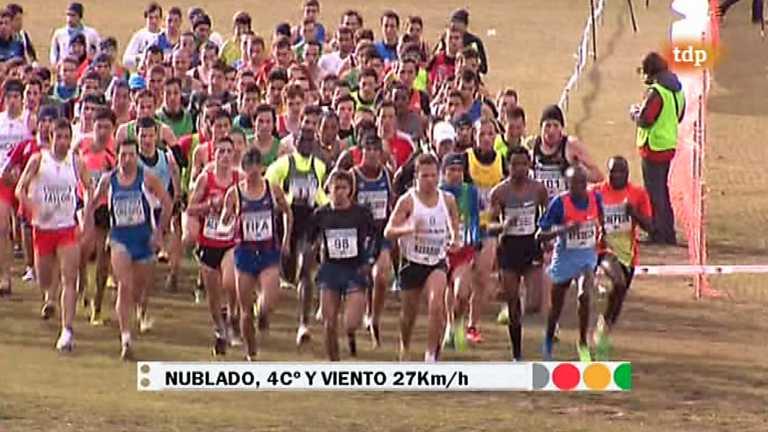 Atletismo - Cross de Atapuerca. Carrera masculina