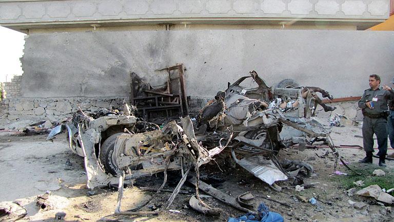 Los ataques coordinados de los talibanes dejan 47 muertos en Afganistán