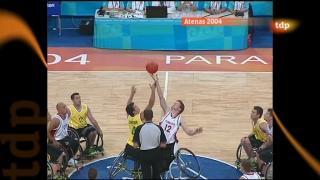 Londres en juego - Paralímpicos Atenas 2004. Baloncesto masculino silla de ruedas. Final Australia - Canadá