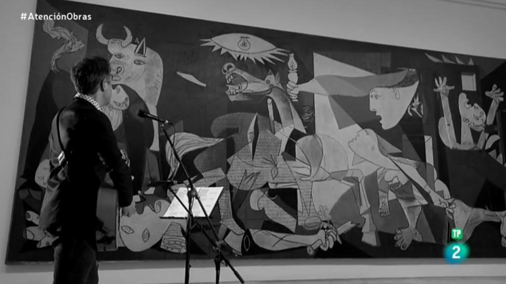 """Jorge Drexler canta """"Décimas para el Guernica"""""""