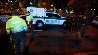 Atentado terrorista en un centro comercial de Bogotá