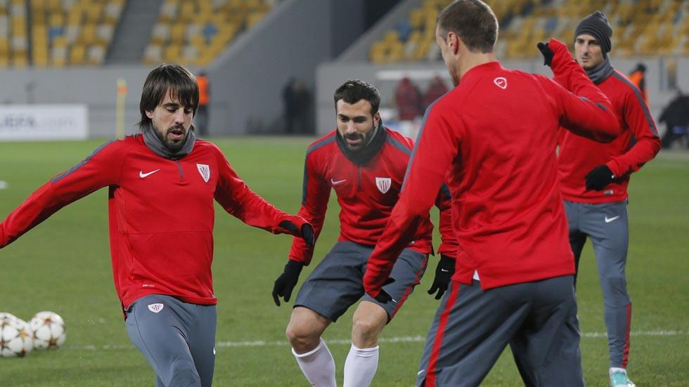 El Athletic busca la victoria en el frío ucraniano