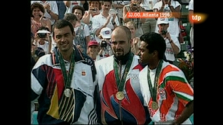 Londres en juego - Atlanta 1996. Tenis. Final masculina: S. Bruguera - A. Agassi