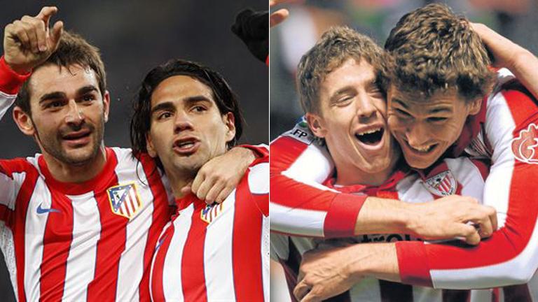 Atlético y Athletic, la fiesta de fútbol español en Bucarest