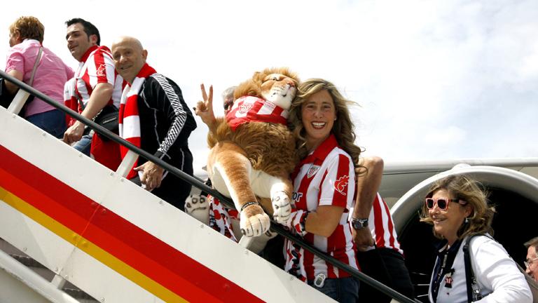 Atlético y Athletic ponen rumbo a Bucarest