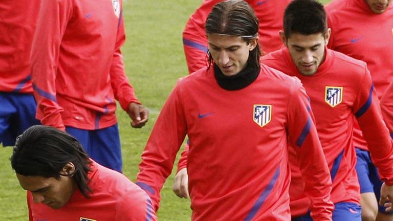 El Atlético descansa para preparar la final de la Europa League