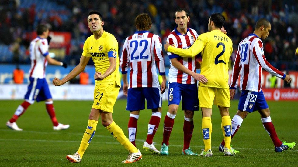 Atlético de Madrid 0 - Villarreal 1