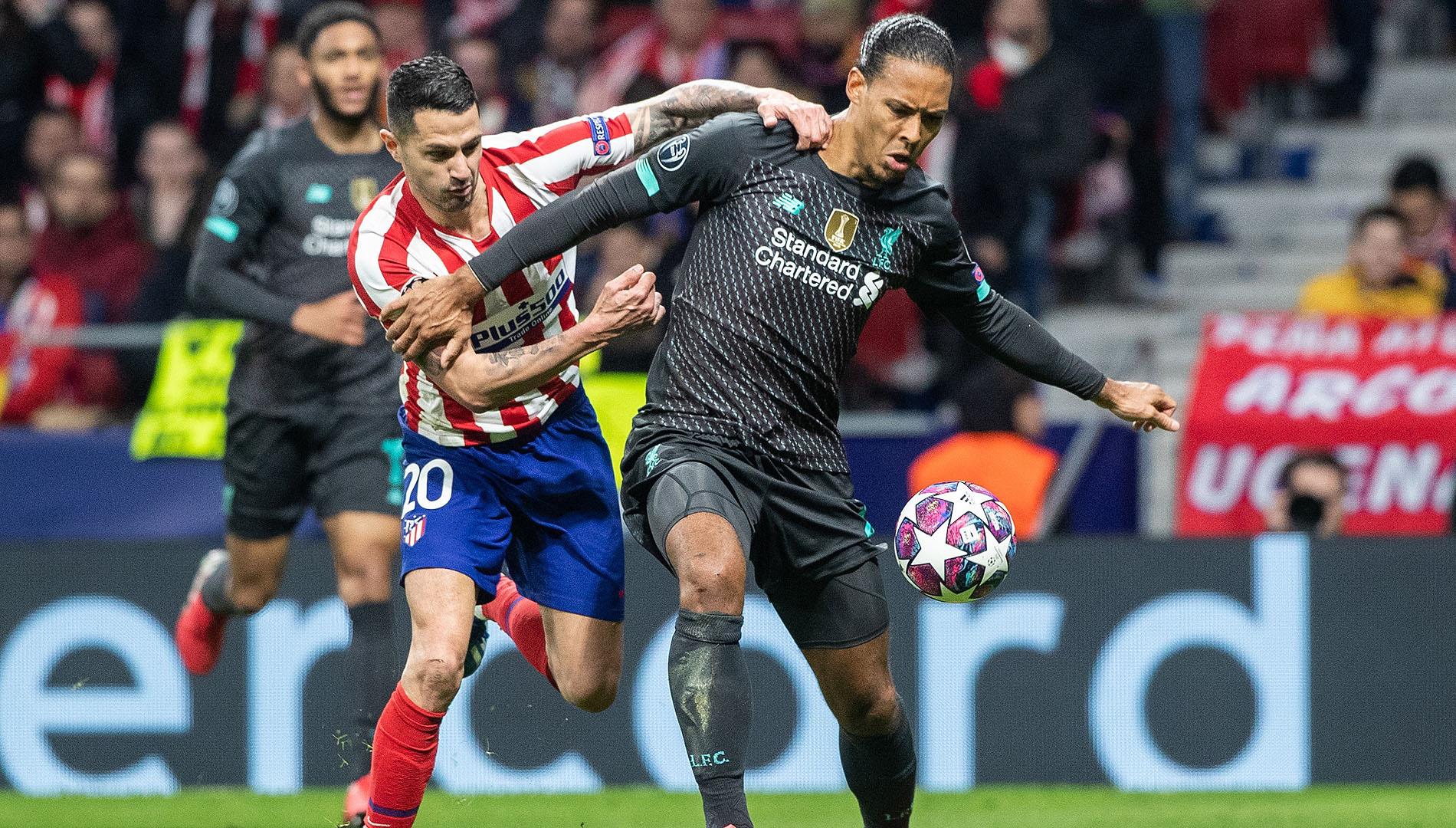 Ir al VideoEl Atlético de Madrid ya está en Liverpool