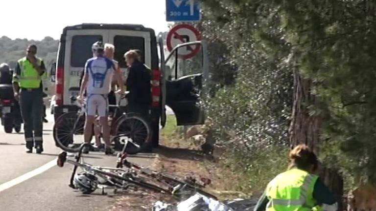Los policías detenidos tras el atropello de una ciclista pasan a disposición judicial