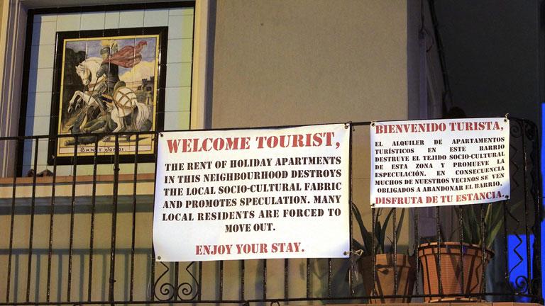 Aumenta la tensión en el barrio de la Barceloneta