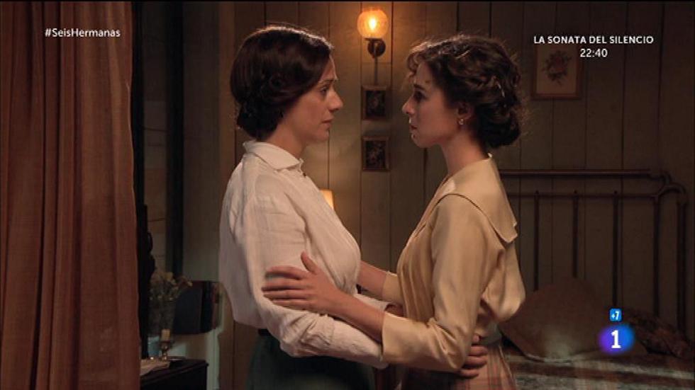 """Seis Hermanas - Aurora a Celia: """"Mi sitio está contigo y no te voy a dejar sola"""""""