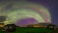 Ir al VideoAuroras boreales 2015 de Islandia en agosto
