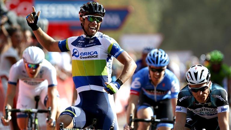 El australiano Matthews gana en Lago de Sanabria
