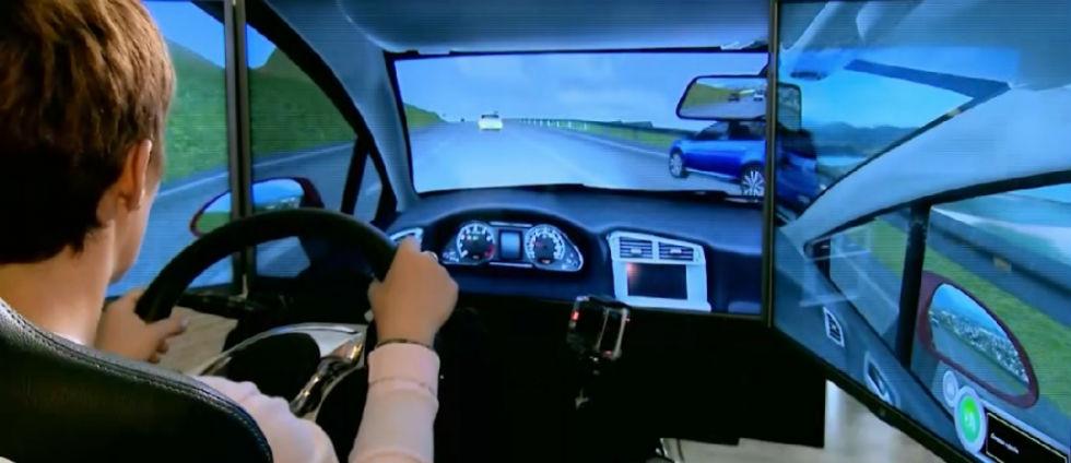 'Seguridad Vital' - 'Autoescuela' - Probamos un simulador