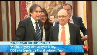 Parlamento - Autonomías y estabilidad - 14/04/12
