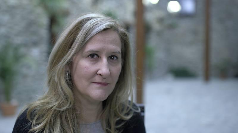 La autora Luz Gabás vive cerca del pueblo de Benasque, le hizo mucha ilusión escribir sobre esta zona que conoce a la perfección y que describe al detalle